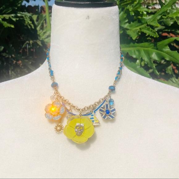 Betsey Johnson Jewelry - Vintage Betsey Johnson Ivy League Necklace